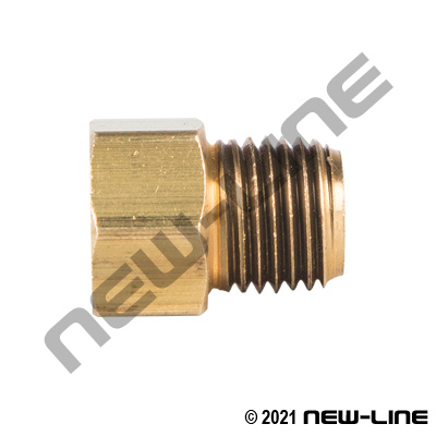 Brass Tube X Male NPT Threaded Tube Sleeve