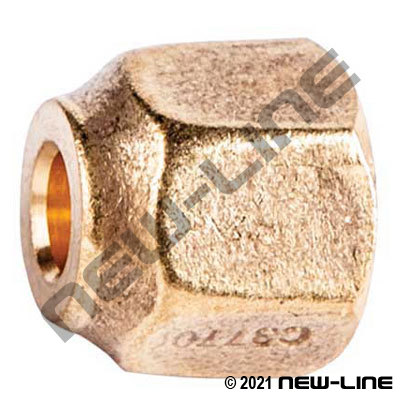 Female SAE Forged Nut - Standard Hex
