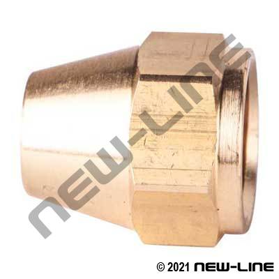 Female SAE Milled Nut - Short Type