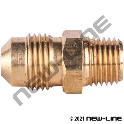 Connector - Male SAE x Male NPT