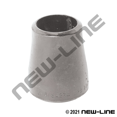 304 Stainless Sched 10 Butt Weld Concentric Reducer