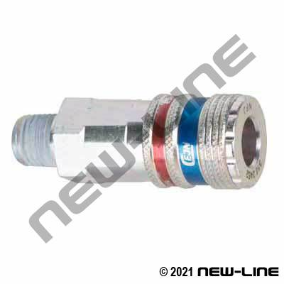 CEJN Industrial Push Coupler x Male NPT