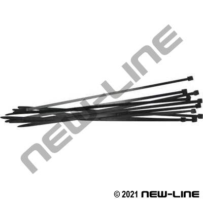 Heavy Duty Black Nylon Cable Tie Zap Straps