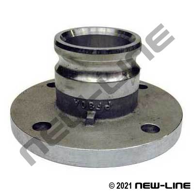 Stainless Steel Male Camlock x 150# Flange