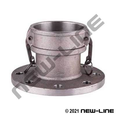 Stainless Female Camlock X 150# Flange