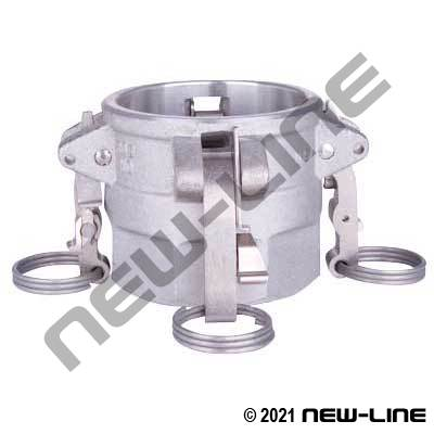 Heavy Duty Pattern Stainless Part D Camlock - FNPT Coupler