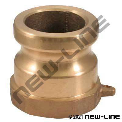 Domestic Bronze Part A Camlock - Female NPT Adapter