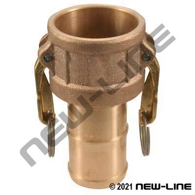 Domestic Bronze Part C Camlock - Hose Coupler