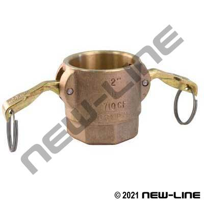 Domestic Bronze Part D Camlock - Female NPT Coupler