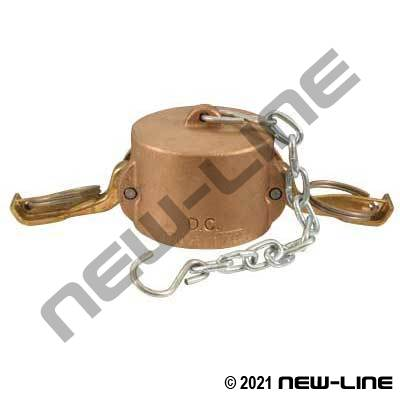 Domestic Bronze Part DC Camlock - Dust Cap