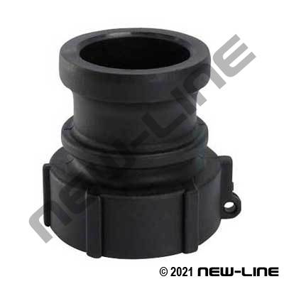 Heavy Duty Polypropylene Part A Camlock - Female NPT Adapter