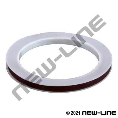 PTFE with Viton Filler Camlock Gasket