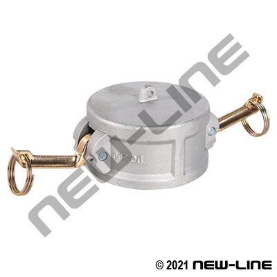 Heavy Duty Plated Malleable Iron Part DC Camlock - Dust Cap