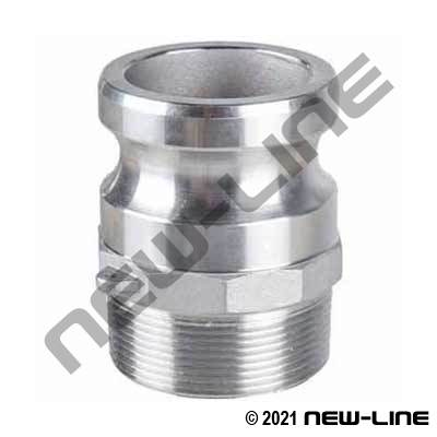 316 Stainless Part F Camlock - Male NPT Adapter