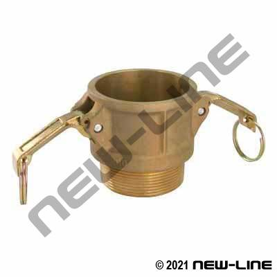 Brass Part B Camlock - Male NPT Coupler