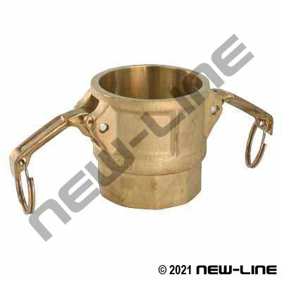 Brass Part D Camlock - Female NPT Coupler