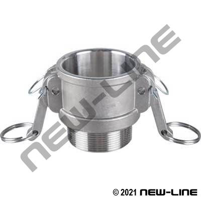 316 Stainless Part B Camlock - Male NPT Coupler