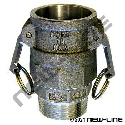 Part B Camlock - Male NPT Swivel Coupler