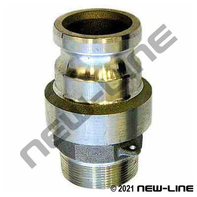 Part F Camlock - Male NPT Swivel Adapter