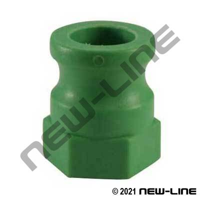 Polypropylene Part A - Female GHT Adapter Camlock