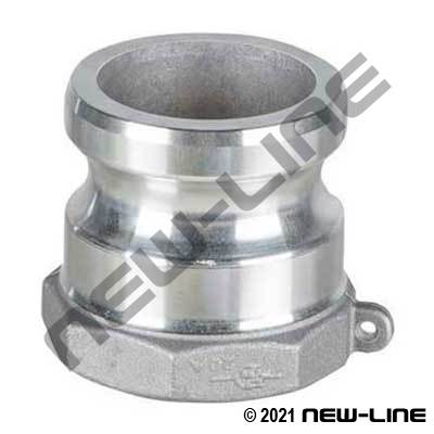 PT Coupling Aluminum Part A - Female NPT Adapter