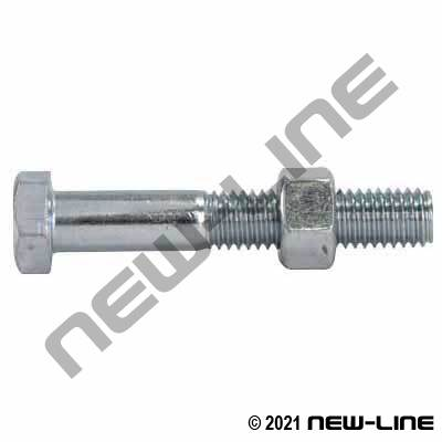 Replacement Bolt/Nut For N51- Malleable Double Bolt Clamps