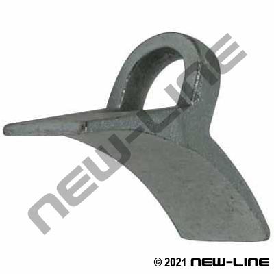 Replacement Saddle For N51 Malleable Iron Double Bolt Clamps