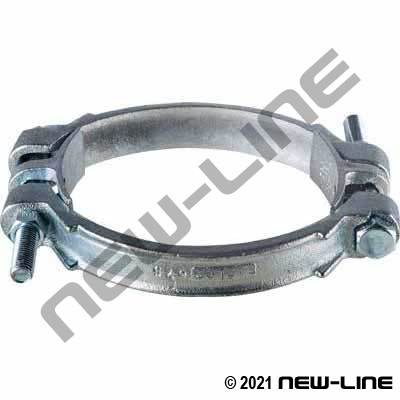 Malleable Iron Double Bolt Clamp