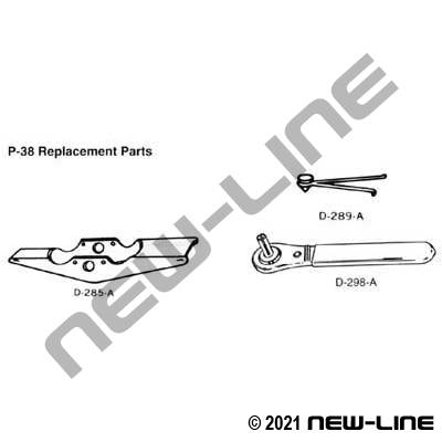Replacement Parts For N60-38 / P-38 Tool