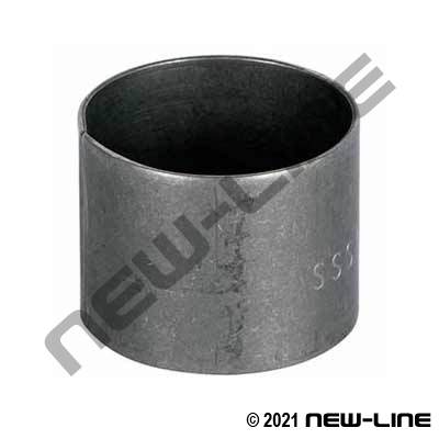 Stainless Steel Crimp Sleeve - Short Style