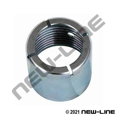 Interlocking HP Serrated Plated Steel Crimp Ferrule