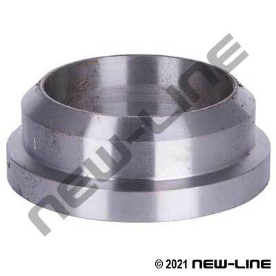 Weld-On Ends Raised Flange x Weld