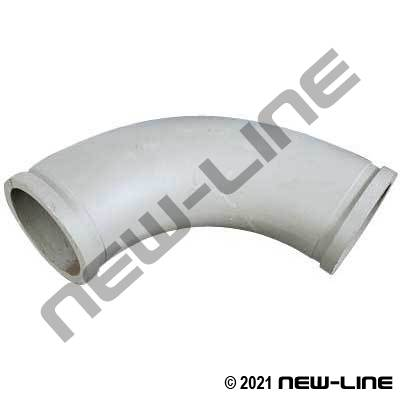 30° Metric Flange Concrete Elbow