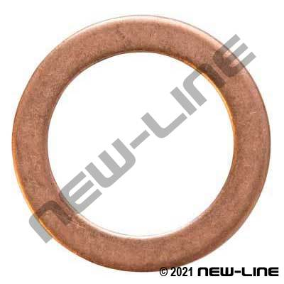 Metric Copper Sealing Washer