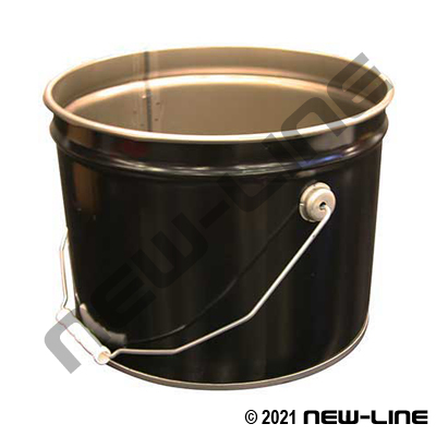 Unlined Metal Pail