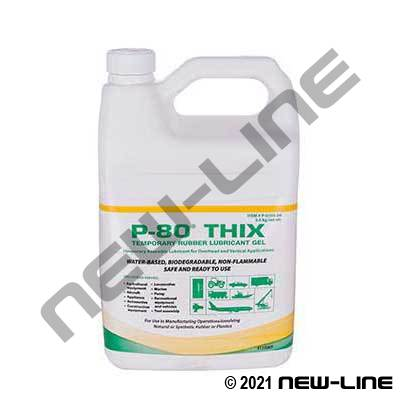 P-80 Thix Rubber Lubricant 4-Liters