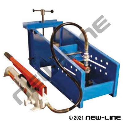 Large ID Hose Insert Pusher Machine