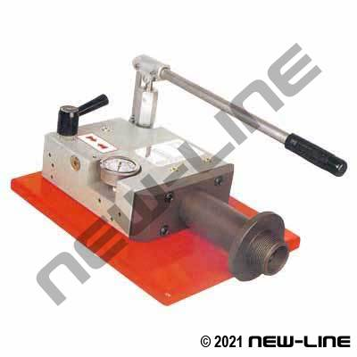 Hand-Pump Countertop Fire Hose Coupling Expander