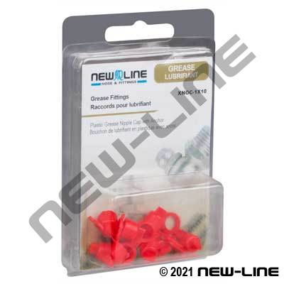 Express Pack Plastic Grease Nipple Cap