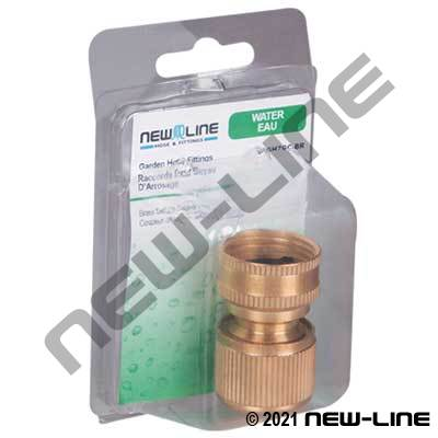 Express Pack Brass Deluxe Quick Connect Coupler