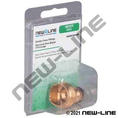 Express Pack Brass GHT Deluxe Quick Connect Plug