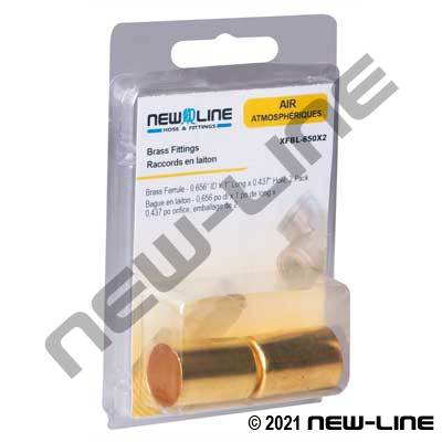 Retail Packaged Brass Ferrules