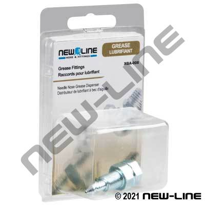 Grease Needle Nose Dispenser - Retail Packaging