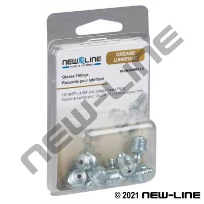 Express Packaged Grease Nipples & Adapters