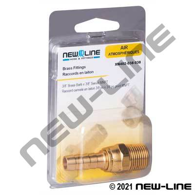 Swivel Male NPT Stem - Retail Packaging