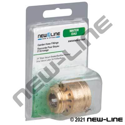 Backflow Preventer - Retail Packaging