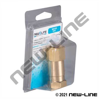 Express Pack Brass Female NPT x Female NPT Live Swivel