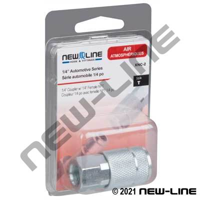 Auto Interchange Coupler x Female NPT - Retail Packaging