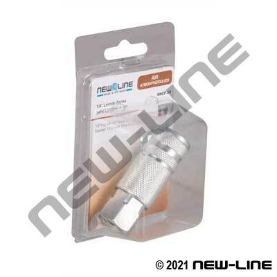 Lincoln Coupler x Female NPT - Retail Packaging