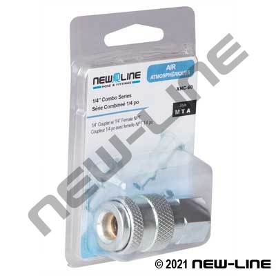 Combo Coupler x Female NPT - Retail Packaging